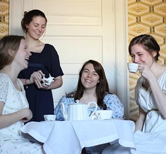 Tea with Mrs Davenport