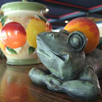 The Frog and Peach