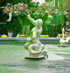 Greening of the Fountain