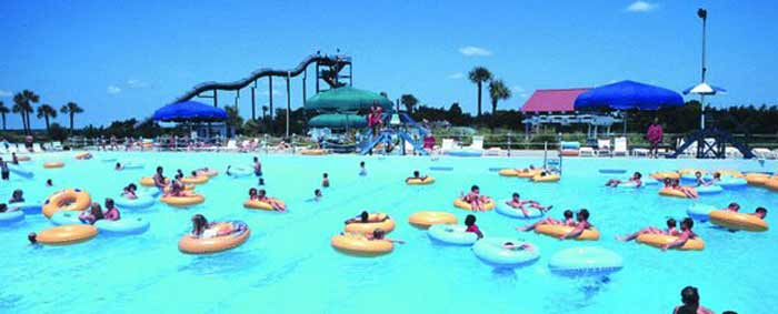Rivers End Campground & R V Park Tybee ~ Tybee Island   Tybee Island Water Park
